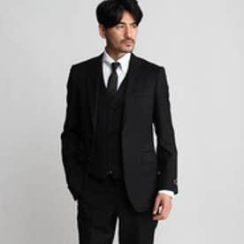 タケオ キクチ TAKEO KIKUCHI サージシングルジャケット (ブラック)