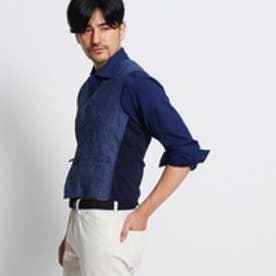 タケオ キクチ TAKEO KIKUCHI 【Product Notes Japan】コンビネーションベスト (ネイビー)