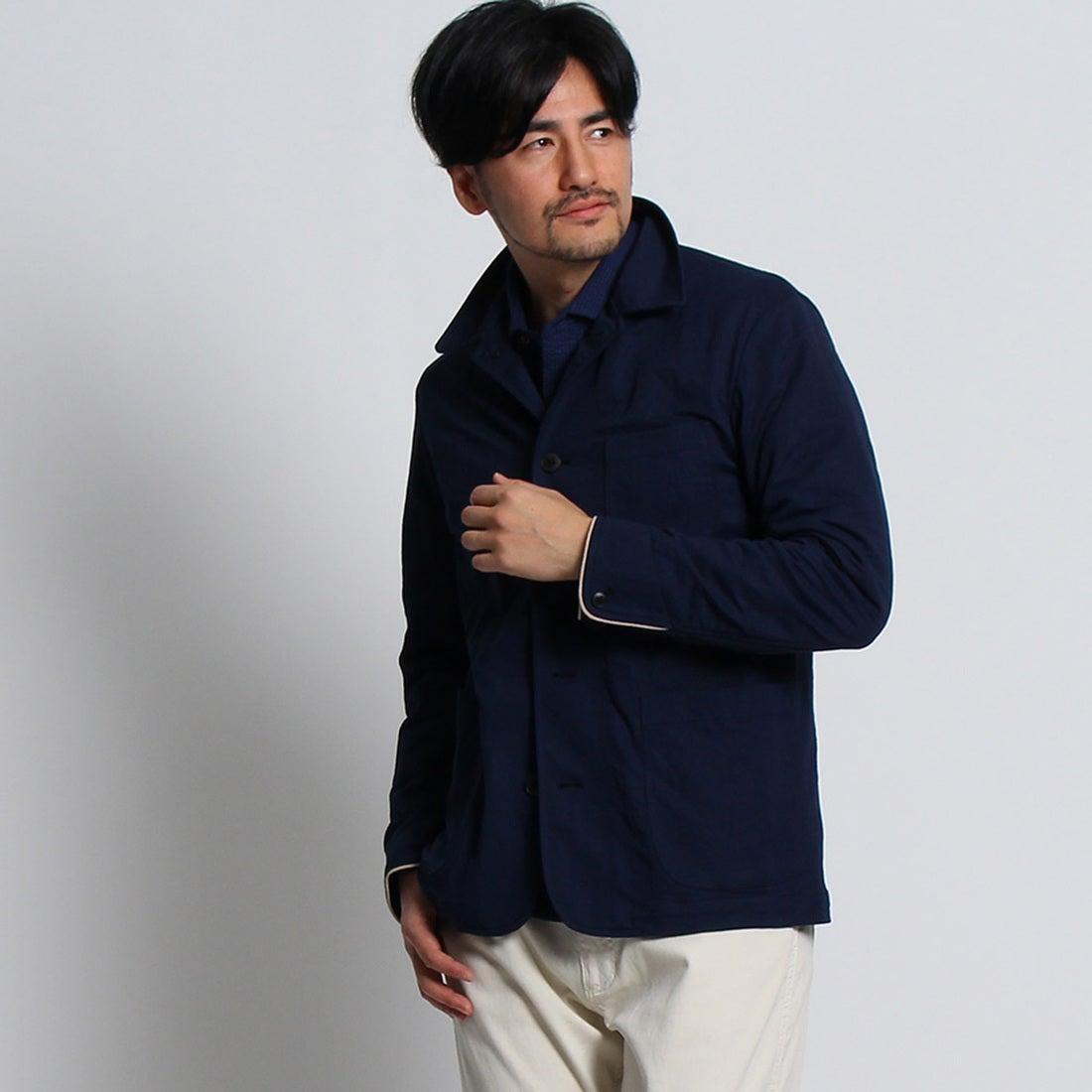 タケオ キクチ TAKEO KIKUCHI ビンテージ調ジャージブルゾン[ メンズ ブルゾン ] (ネイビー)