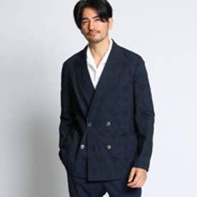タケオ キクチ TAKEO KIKUCHI 【PNJ】米沢織ジャガードジャケット (ネイビー)