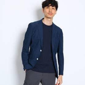 タケオ キクチ TAKEO KIKUCHI 【洗える】CS_ブークレメランジクールドッツジャケット (ブルー)