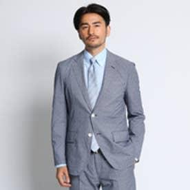 タケオ キクチ TAKEO KIKUCHI 【洗える】CS_バスケットプリントジャケット [ メンズ ジャケット ] (ブルー)
