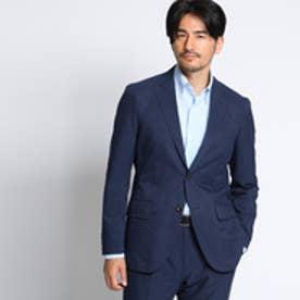タケオ キクチ TAKEO KIKUCHI 【洗える】CS_バスケットプリントジャケット [ メンズ ジャケット ] (ネイビー)