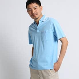 タケオ キクチ TAKEO KIKUCHI マリンラインスキッパーポロシャツ [ メンズ ポロシャツ ] (サックス)