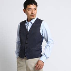 タケオ キクチ TAKEO KIKUCHI CS_カルゼフォルモザベスト [ メンズ ベスト ] (ブルー)