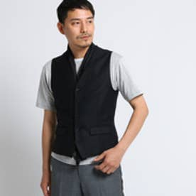 タケオ キクチ TAKEO KIKUCHI ホップサックアマデウスデタッチャブルショールベスト (ブラック)
