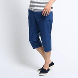 タケオ キクチ TAKEO KIKUCHI ピンヘッド7分丈パンツ [ メンズ ストレッチ パンツ 7分丈 ] (ブルー)