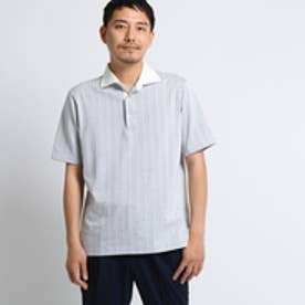 タケオ キクチ TAKEO KIKUCHI 五線譜ストライプポロシャツ [ メンズ ポロシャツ ] (ホワイト)