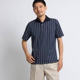 タケオ キクチ TAKEO KIKUCHI 五線譜ストライプポロシャツ [ メンズ ポロシャツ ] (ネイビー)