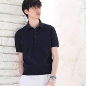 タケオ キクチ TAKEO KIKUCHI 【 PNJ 】 カゴメニットポロシャツ [ メンズ ポロシャツ ] (ネイビー)