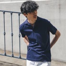 タケオ キクチ TAKEO KIKUCHI サンホーキンドットポロシャツ[メンズ ポロシャツ] (ネイビー)