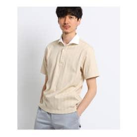 タケオ キクチ TAKEO KIKUCHI 五線譜ストライプポロシャツ [ メンズ ポロシャツ ] (ベージュ)