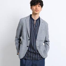 タケオ キクチ TAKEO KIKUCHI メランジ麻ストレッチジャケット[ メンズ ジャケット ] (グレー)