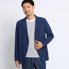 タケオ キクチ TAKEO KIKUCHI メランジ麻ストレッチジャケット[ メンズ ジャケット ] (ネイビー)