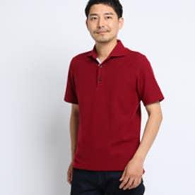 タケオ キクチ TAKEO KIKUCHI カラーメランジポロシャツ [ メンズ ポロシャツ 吸汗速乾 ギフト ] (ボルドー)