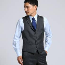 タケオ キクチ TAKEO KIKUCHI 【PNJ】紡縞 ベスト [ メンズ スーツ ] (ダークグレー)
