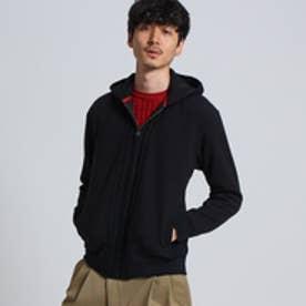 タケオ キクチ TAKEO KIKUCHI ブリスタージップパーカー [ カーディガン ジャージ ] (ブラック)