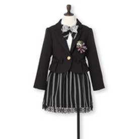 ザ ショップ ティーケー THE SHOP TK ガールズスーツ (ブラック)