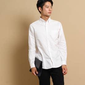 ザ ショップ ティーケー THE SHOP TK 【MADE IN 長崎】オックスシャツ (ホワイト)