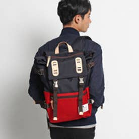 ティーケー TK TRUCKS DOUBLE BELT DAYPACK (ネイビー)