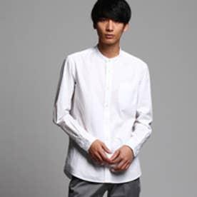 ティーケー タケオ キクチ tk.TAKEO KIKUCHI ブロードバンドカラーシャツ (ホワイト)