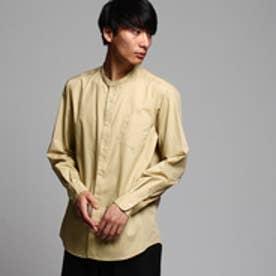 ティーケー タケオ キクチ tk.TAKEO KIKUCHI ブロードバンドカラーシャツ (ベージュ)