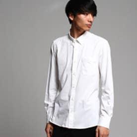 ティーケー タケオ キクチ tk.TAKEO KIKUCHI COOLMAXカットソーシャツ (ホワイト)