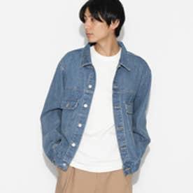 ティーケー タケオ キクチ tk.TAKEO KIKUCHI オーバーサイズデニムジャケット (ブルー)