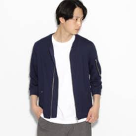 ティーケー タケオ キクチ tk.TAKEO KIKUCHI 【接触冷感】7分袖MA-1 (ネイビー)