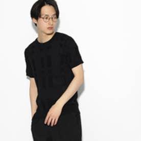 ティーケー タケオ キクチ tk.TAKEO KIKUCHI ビッグチェックニット (ブラック)