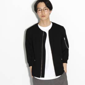 ティーケー タケオ キクチ tk.TAKEO KIKUCHI 【接触冷感】7分袖MA-1 (ブラック)