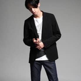 ティーケー タケオ キクチ tk.TAKEO KIKUCHI 【CARREMAN】ポンチジャケット (ブラック)