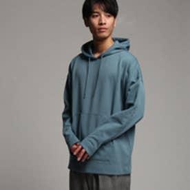 ティーケー タケオ キクチ tk.TAKEO KIKUCHI オーバーサイズパーカー (ライトブルー)