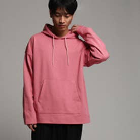 ティーケー タケオ キクチ tk.TAKEO KIKUCHI オーバーサイズパーカー (ピンク系)
