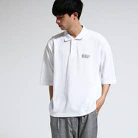 ティーケー タケオ キクチ tk.TAKEO KIKUCHI オーバーサイズポロシャツ (ホワイト)