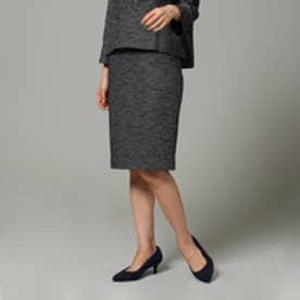 アンタイトル UNTITLED リングツイードスカート (ブラック)