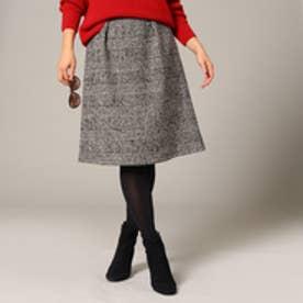 アンタイトル UNTITLED ツイードスカート (ブラック)