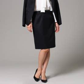 アンタイトル UNTITLED ウエストカーブタイトスカート (ブラック)