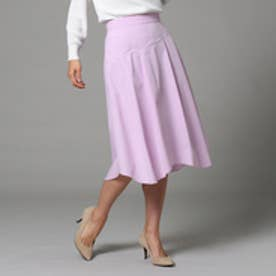 アンタイトル UNTITLED 【洗える】ネオストレッチタイプライタースカート (ベビーピンク)