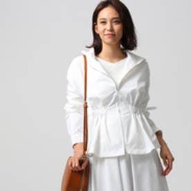 アンタイトル UNTITLED [L]【洗える】クリーンライトジャケット (オフホワイト)