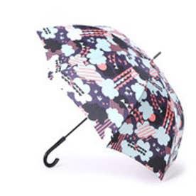 キウ KiU 雨傘 A-jump umbrellaウェザーネイビー