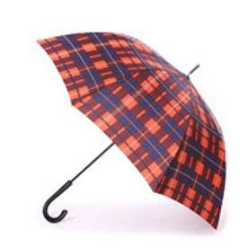 キウ KiU 雨傘 A-jump umbrellaチェックレッド
