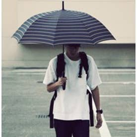 ダブリュピーシー w.p.c ユニセックス雨傘JUMP (ボーダー)