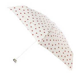 ダブリュピーシー w.p.c 雨傘 ジャギーハート mini (OF)