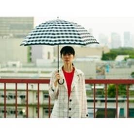 ダブリュピーシー w.p.c 雨傘 ブロックチェック (BK)
