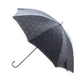 ダブリュピーシー w.p.c 日傘 遮光ボタンフラワー (ブラック)