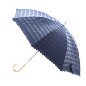 ダブリュピーシー w.p.c 日傘 遮光オパールライクボーダー (ネイビー)