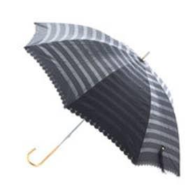 ダブリュピーシー w.p.c 日傘 遮光オパールライクボーダー (ブラック)