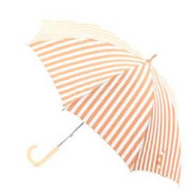 ダブリュピーシー w.p.c 日傘 ストライプアンドピコレース (オレンジ)