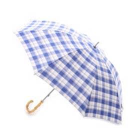 ダブリュピーシー w.p.c 日傘 マドラスチェック (ブルー)
